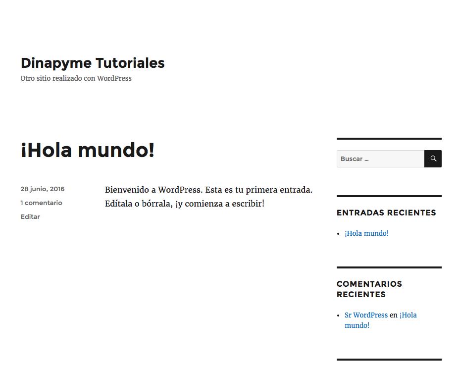 Crear un tema hijo en WordPress a mano | Dinapyme