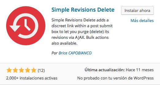 Borrar las revisiones de tu contenido en WordPress   Dinapyme