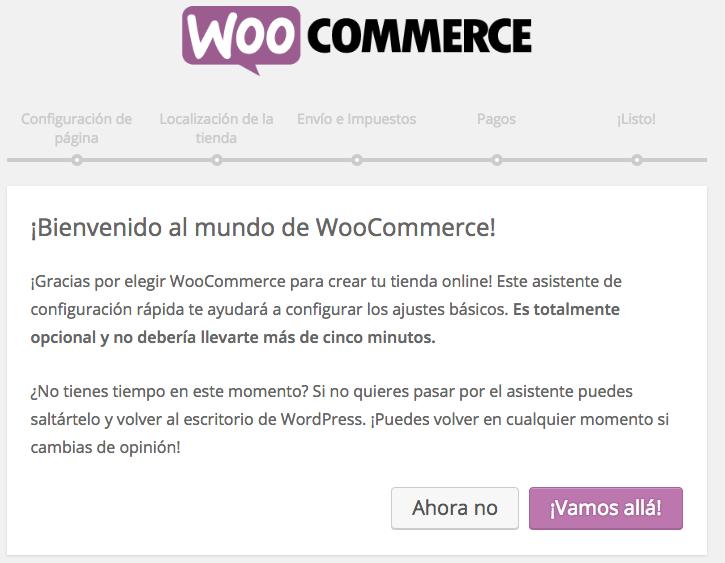 Instalar WooCommerce - Dinapyme