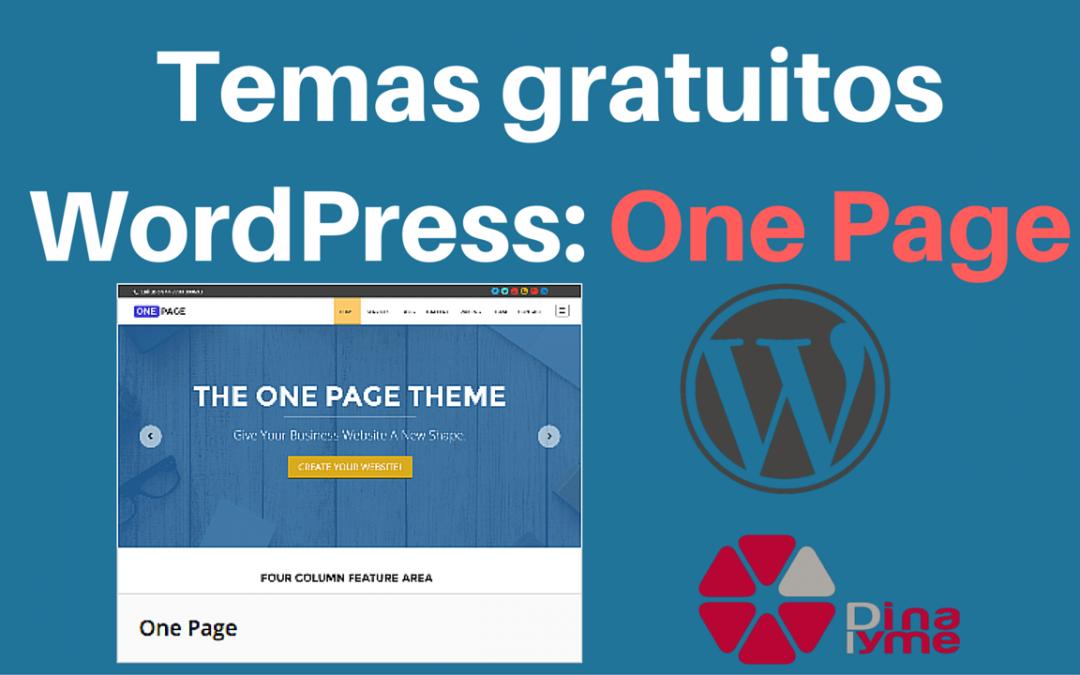 Temas Gratuitos WordPress: One Page Dinapyme
