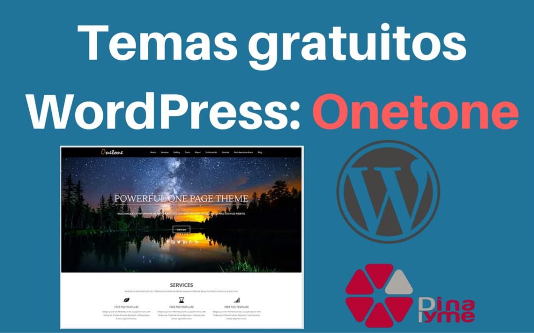 Temas Gratuitos WordPress – Onetone | Dinapyme
