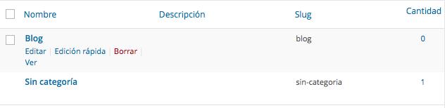 """Eliminar la Categoría """"Sin categoría"""" de las entradas de WordPress - Dinapyme"""