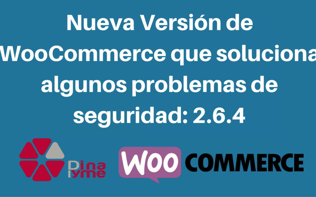 Nueva Versión de WooCommerce que soluciona algunos problemas
