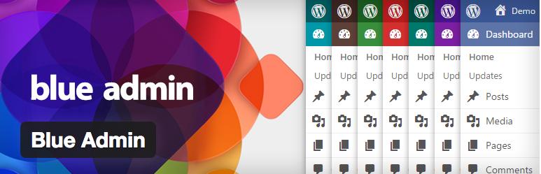 Temas WordPress para el panel de Administracion - Blue Admin