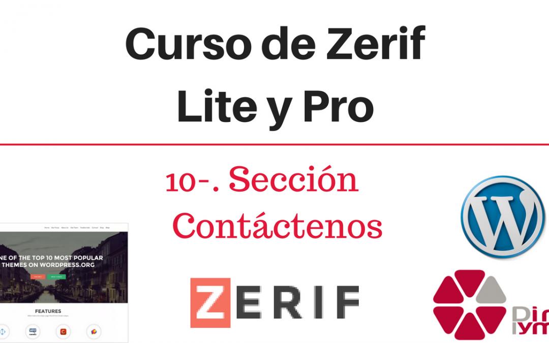 10 - Curso Zerif Lite y Pro